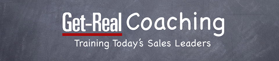 Get-Real Coaching - Training Today's Sales Leaders
